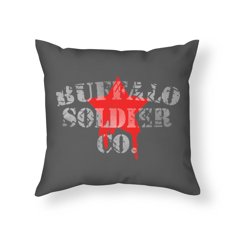 Tank Text Home Throw Pillow by Frewil 's Artist Shop