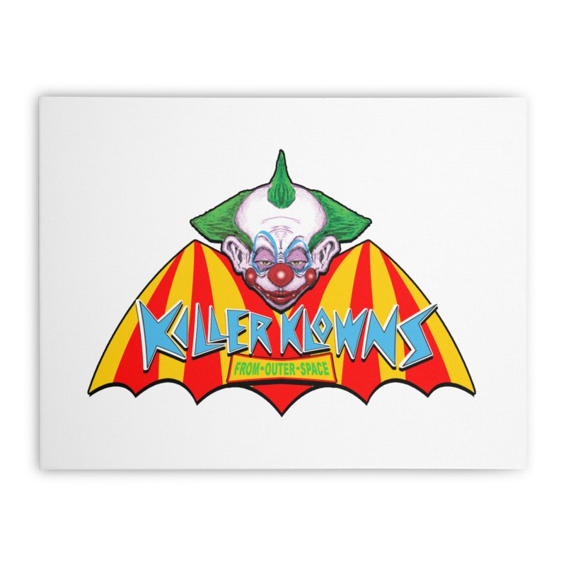 Killer Home Stretched Canvas by Frewil 's Artist Shop
