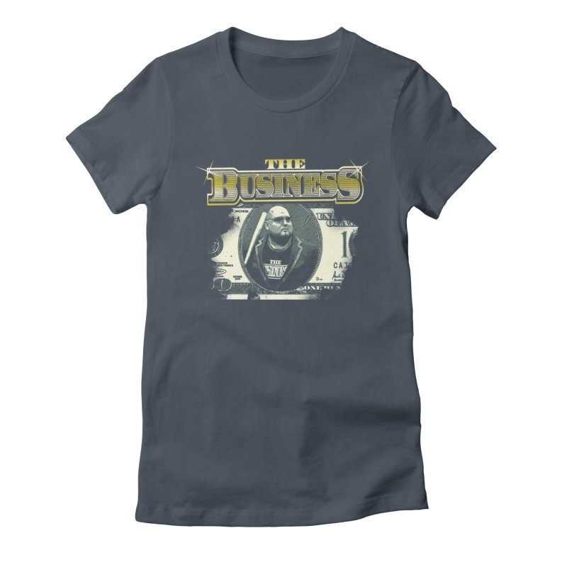 Dollars makes Sense Women's Fitted T-Shirt by Frewil 's Artist Shop