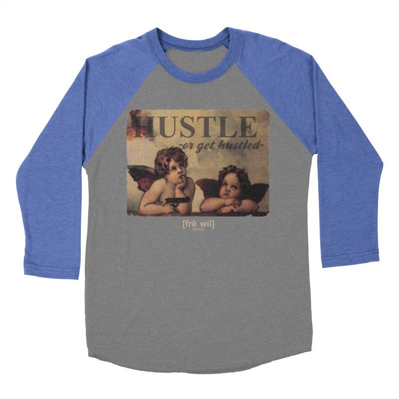 Angels & Angles Women's Baseball Triblend Longsleeve T-Shirt by Frewil 's Artist Shop