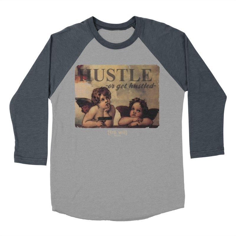 Angels & Angles Women's Baseball Triblend T-Shirt by Frewil 's Artist Shop