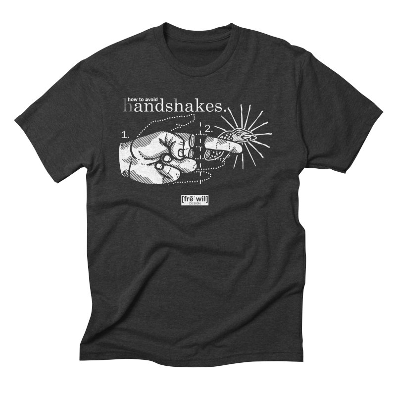 Handshakes Men's Triblend T-shirt by Frewil 's Artist Shop