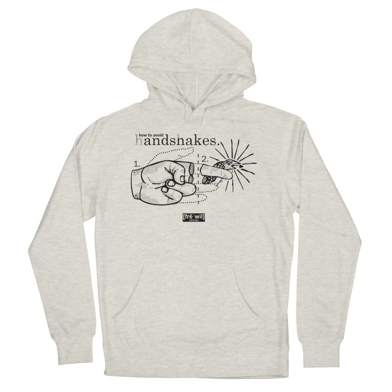 Handshakes (black) Men's Pullover Hoody by Frewil 's Artist Shop