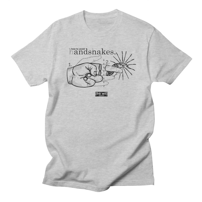 Handshakes (black) Men's T-Shirt by Frewil 's Artist Shop