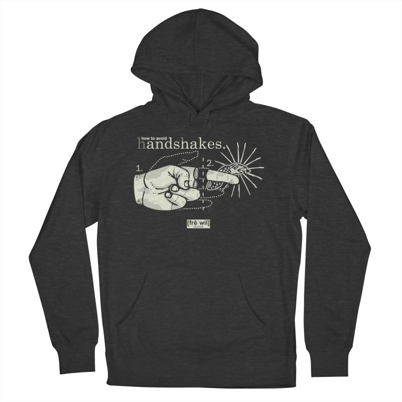 Handshakes (creme) Women's Pullover Hoody by Frewil 's Artist Shop
