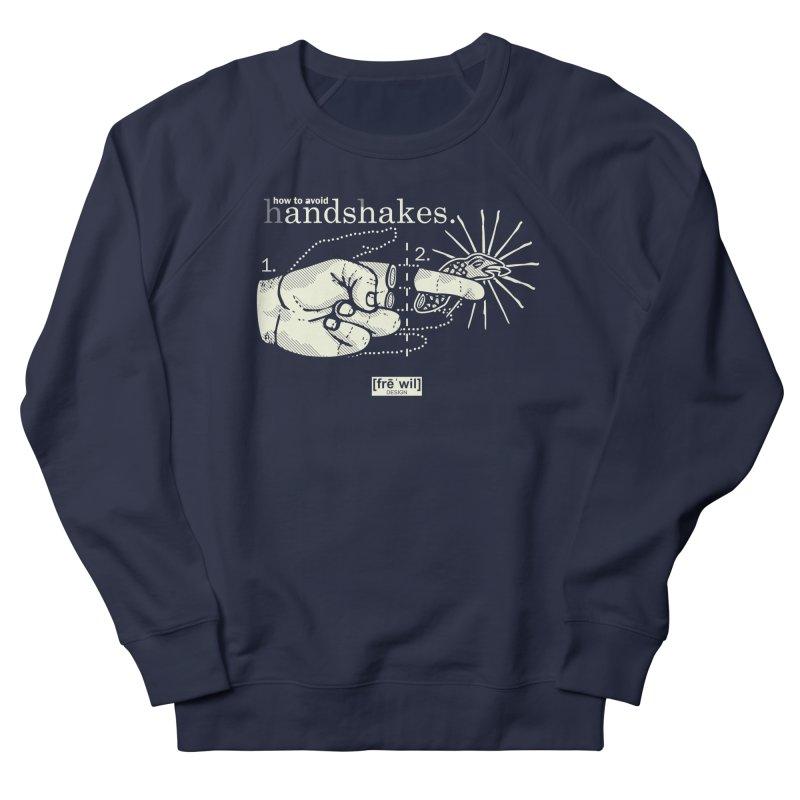 Handshakes (creme) Women's Sweatshirt by Frewil 's Artist Shop