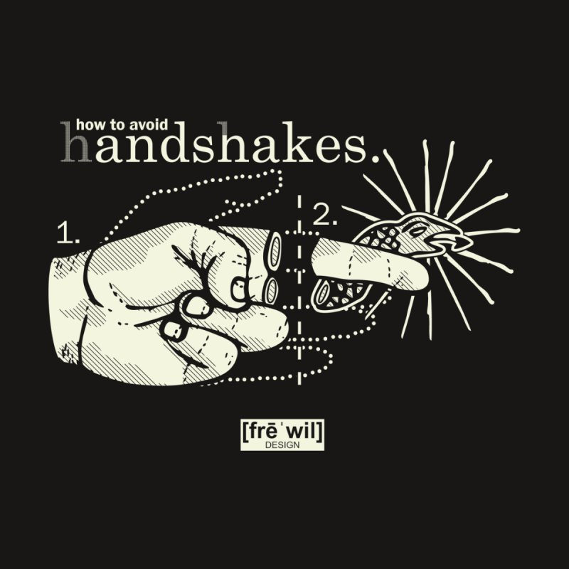 creme handshake Men's T-Shirt by Frewil 's Artist Shop