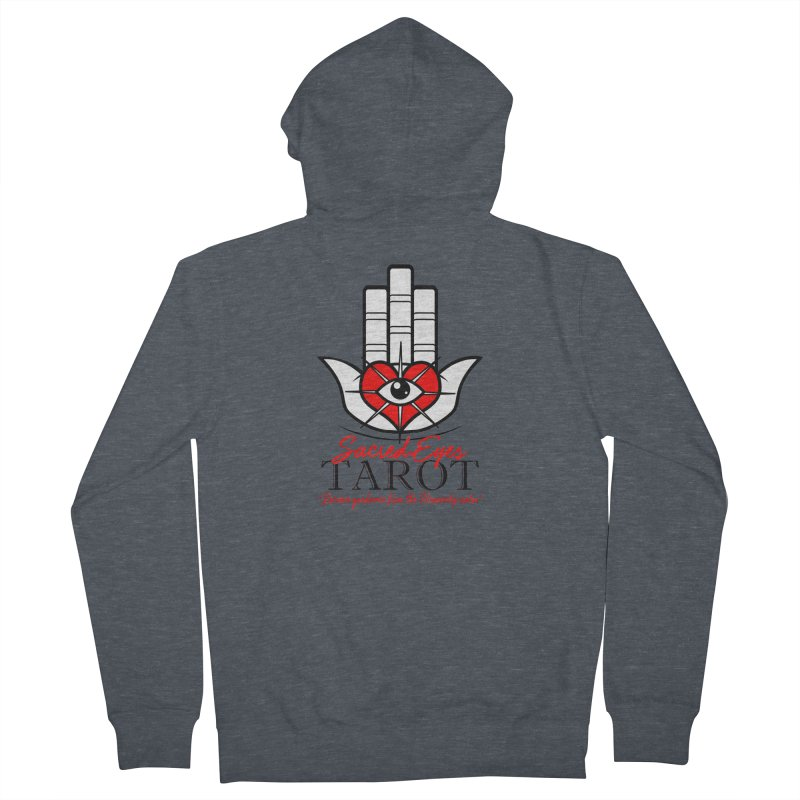 Sacred Eye Tarot (light) Women's Zip-Up Hoody by Frewil 's Artist Shop