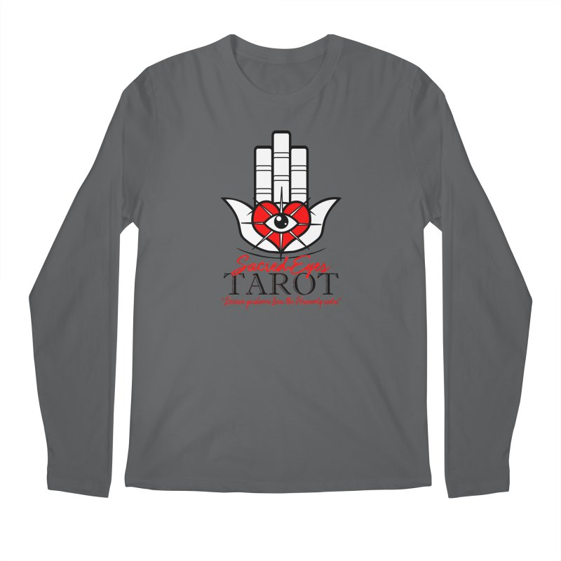 Sacred Eye Tarot (light) Men's Longsleeve T-Shirt by Frewil 's Artist Shop