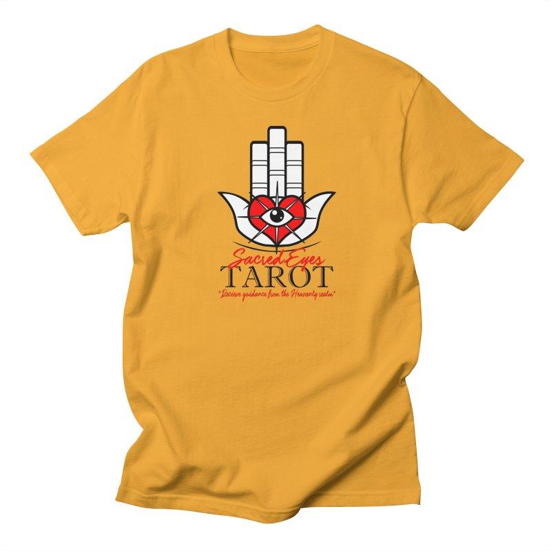 Sacred Eye Tarot (light) Men's T-Shirt by Frewil 's Artist Shop