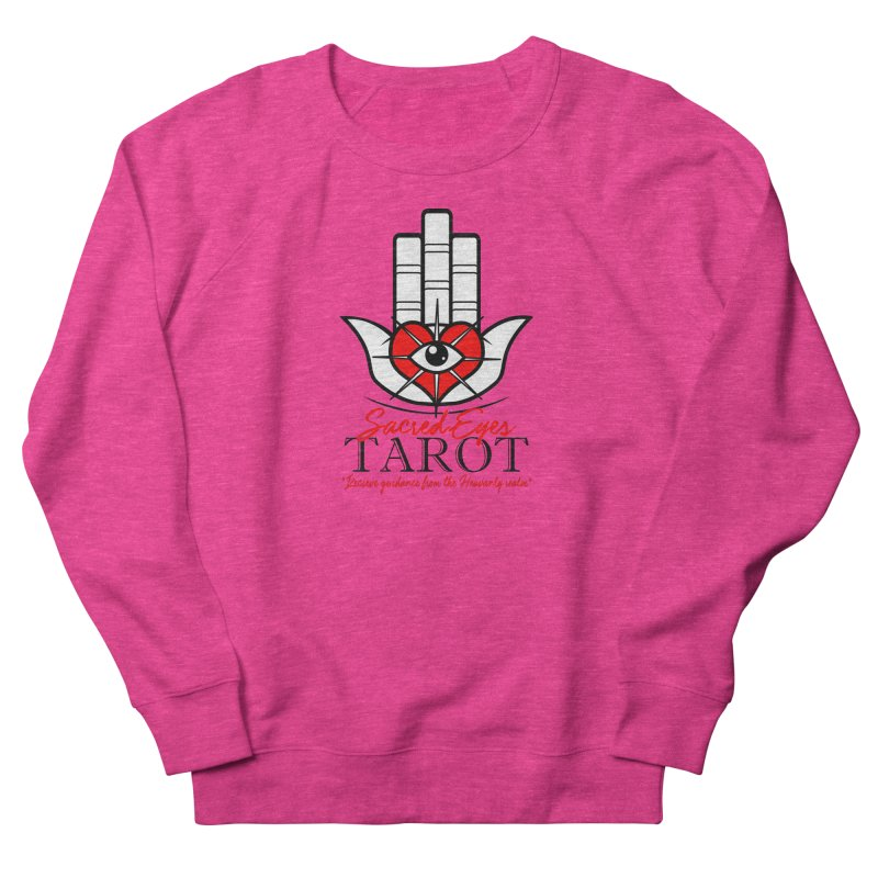 Sacred Eye Tarot (light) Women's Sweatshirt by Frewil 's Artist Shop