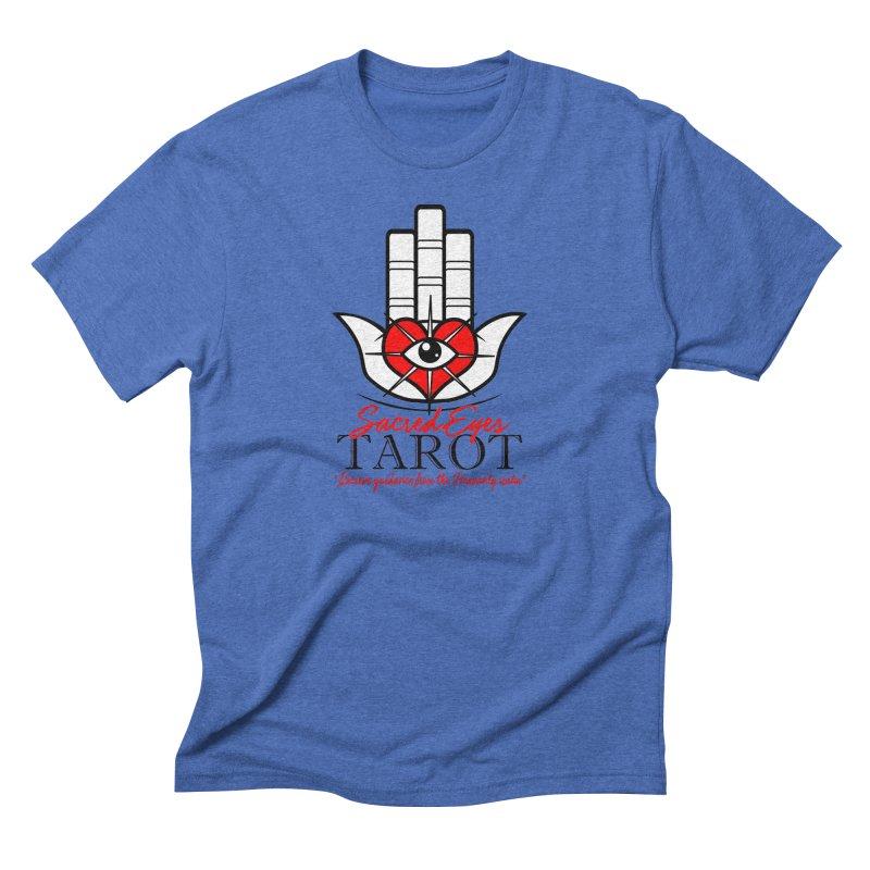 Sacred Eye Tarot (light) Men's Triblend T-Shirt by Frewil 's Artist Shop