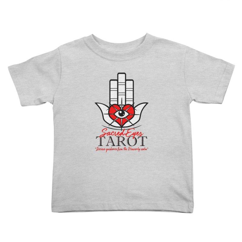Sacred Eye Tarot (light) Kids Toddler T-Shirt by Frewil 's Artist Shop
