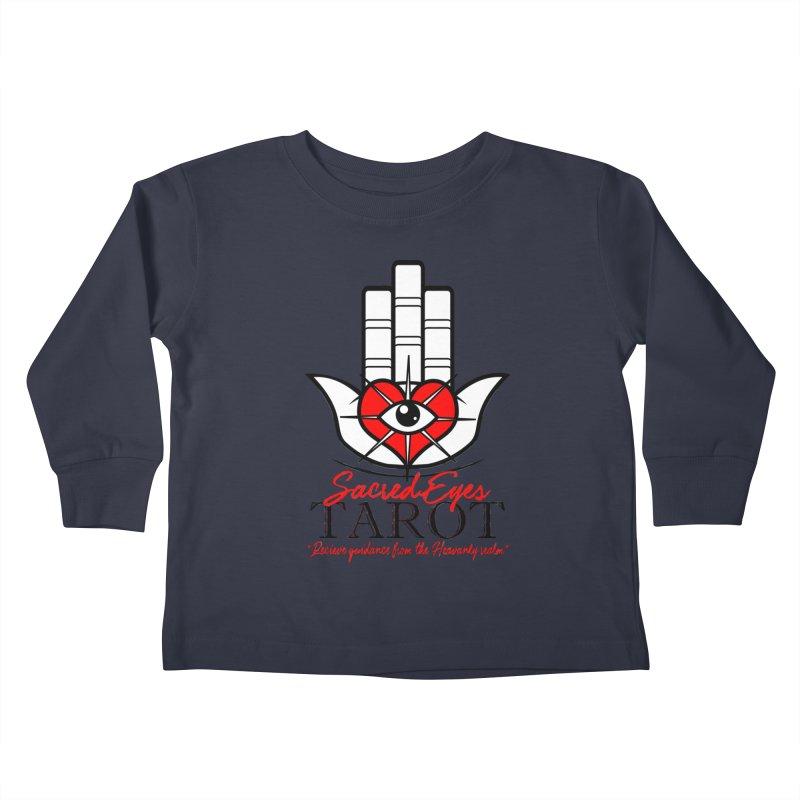 Sacred Eye Tarot (light) Kids Toddler Longsleeve T-Shirt by Frewil 's Artist Shop