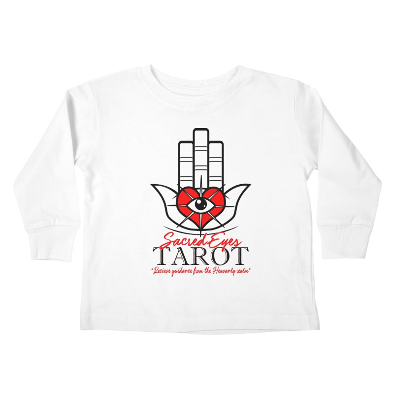 Sacred Eye Tarot (light) Kids Toddler Longsleeve T-Shirt by Frewil 's Artist Shop