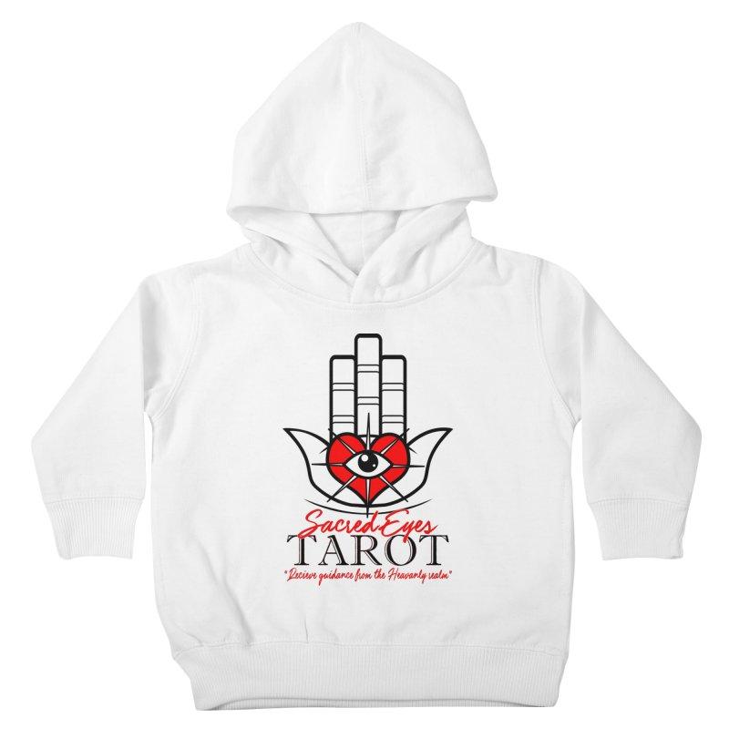 Sacred Eye Tarot (light) Kids Toddler Pullover Hoody by Frewil 's Artist Shop