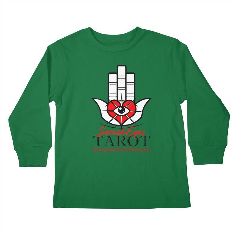 Sacred Eye Tarot (light) Kids Longsleeve T-Shirt by Frewil 's Artist Shop