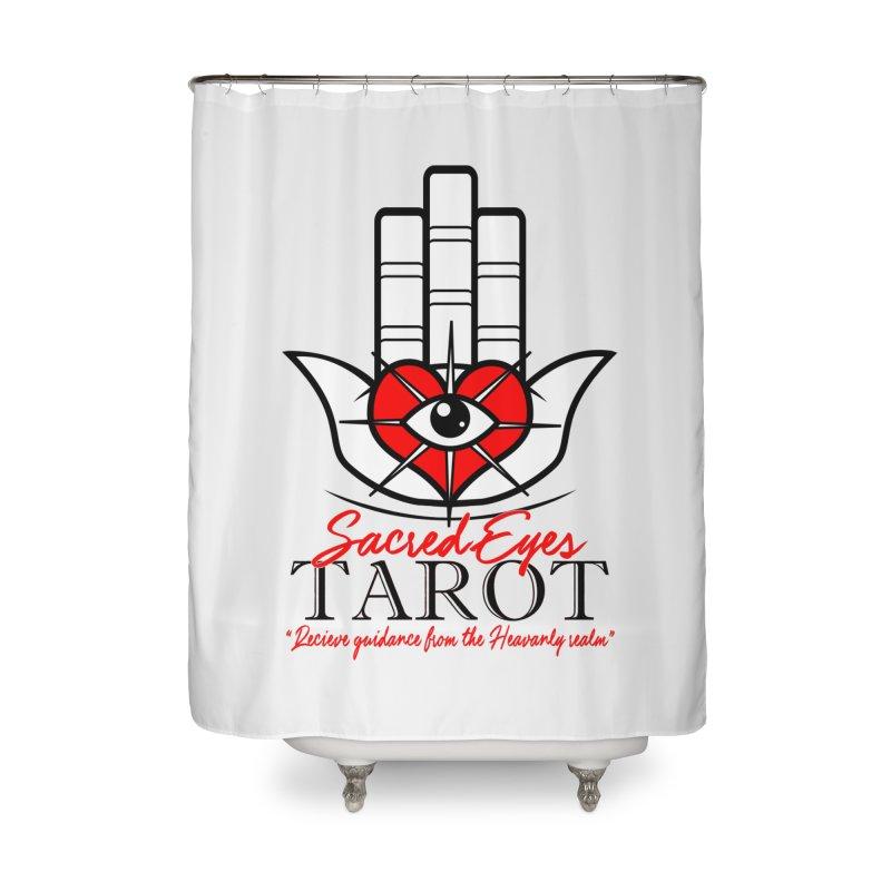 Sacred Eye Tarot (light) Home Shower Curtain by Frewil 's Artist Shop