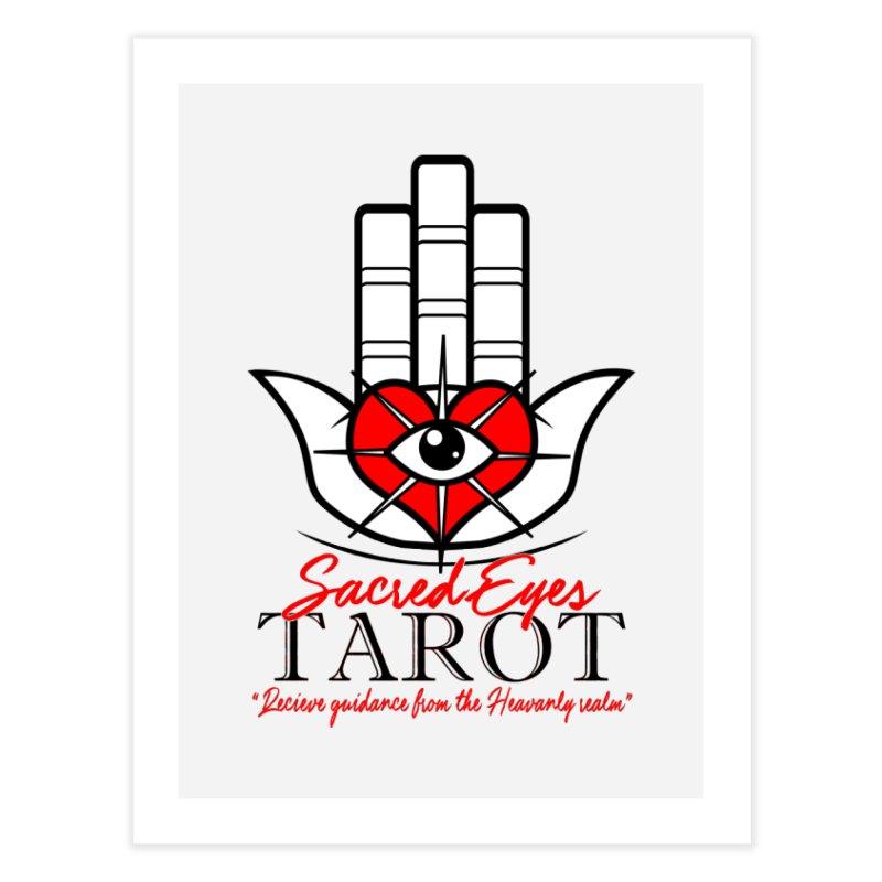 Sacred Eye Tarot (light) Home Fine Art Print by Frewil 's Artist Shop