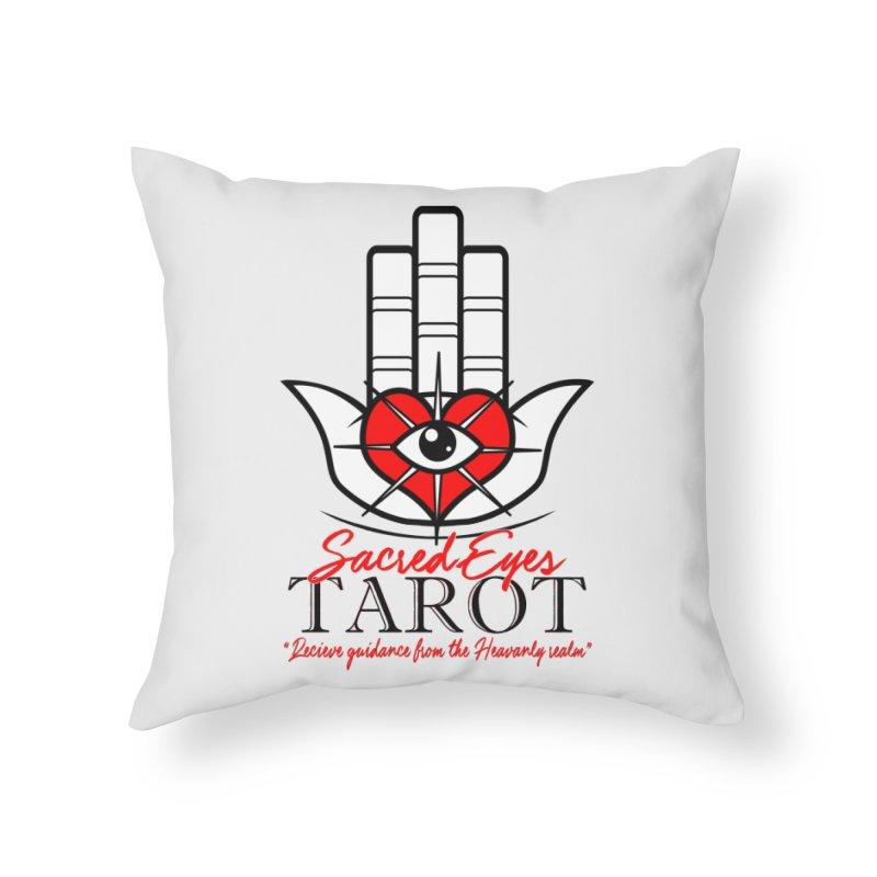 Sacred Eye Tarot (light) Home Throw Pillow by Frewil 's Artist Shop
