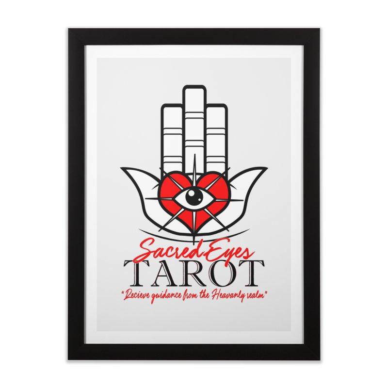 Sacred Eye Tarot (light) Home Framed Fine Art Print by Frewil 's Artist Shop