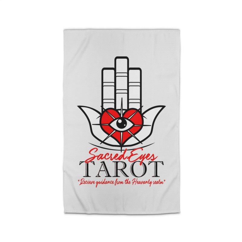 Sacred Eye Tarot (light) Home Rug by Frewil 's Artist Shop