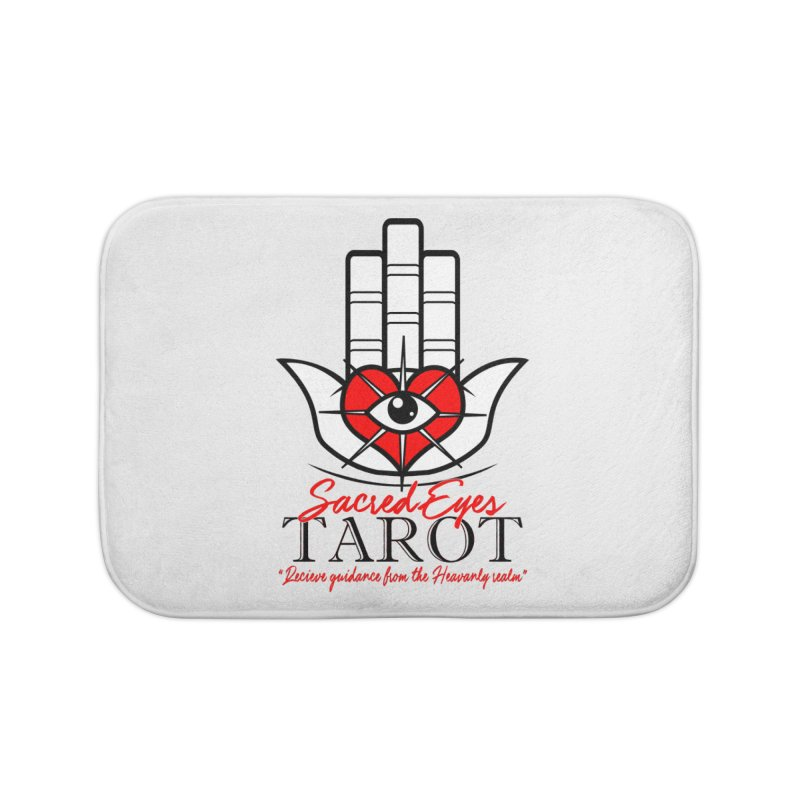 Sacred Eye Tarot (light) Home Bath Mat by Frewil 's Artist Shop