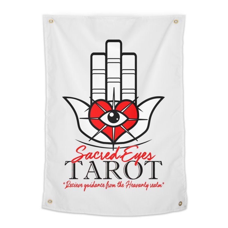 Sacred Eye Tarot (light) Home Tapestry by Frewil 's Artist Shop