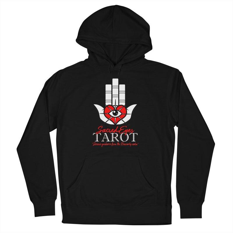 Sacred Eyes Tarot (dark) Women's Pullover Hoody by Frewil 's Artist Shop