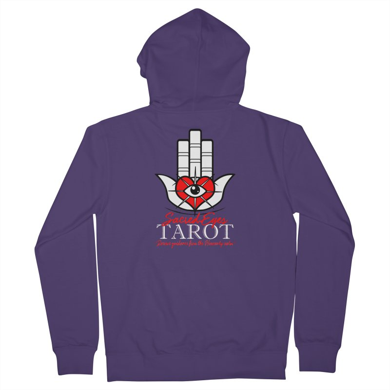 Sacred Eyes Tarot (dark) Women's Zip-Up Hoody by Frewil 's Artist Shop