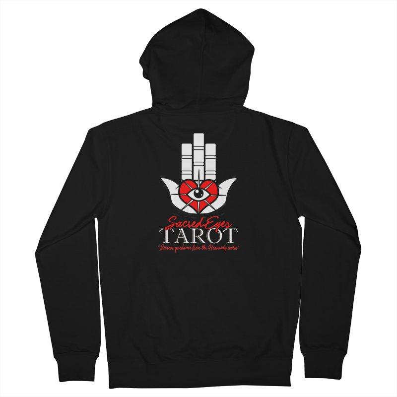 Sacred Eyes Tarot (dark) Women's Zip-Up Hoody by Frewil 's Artist Shop