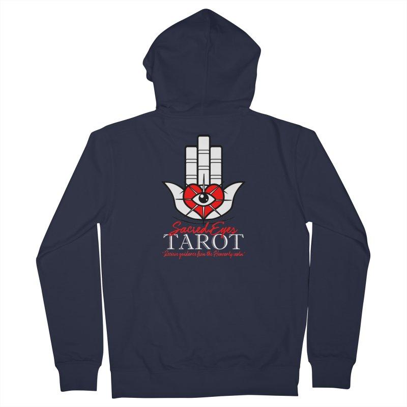 Sacred Eyes Tarot (dark) Men's Zip-Up Hoody by Frewil 's Artist Shop