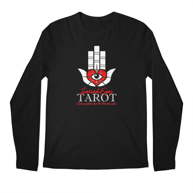 Sacred Eyes Tarot (dark) Men's Longsleeve T-Shirt by Frewil 's Artist Shop