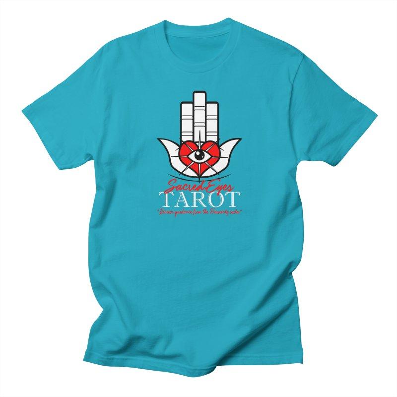 Sacred Eyes Tarot (dark) Men's T-Shirt by Frewil 's Artist Shop