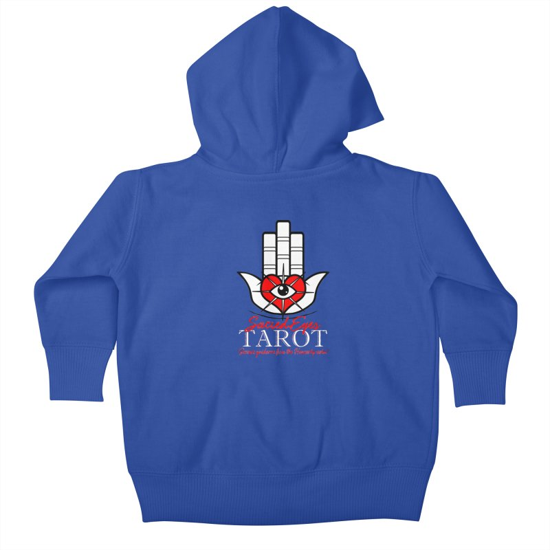 Sacred Eyes Tarot (dark) Kids Baby Zip-Up Hoody by Frewil 's Artist Shop