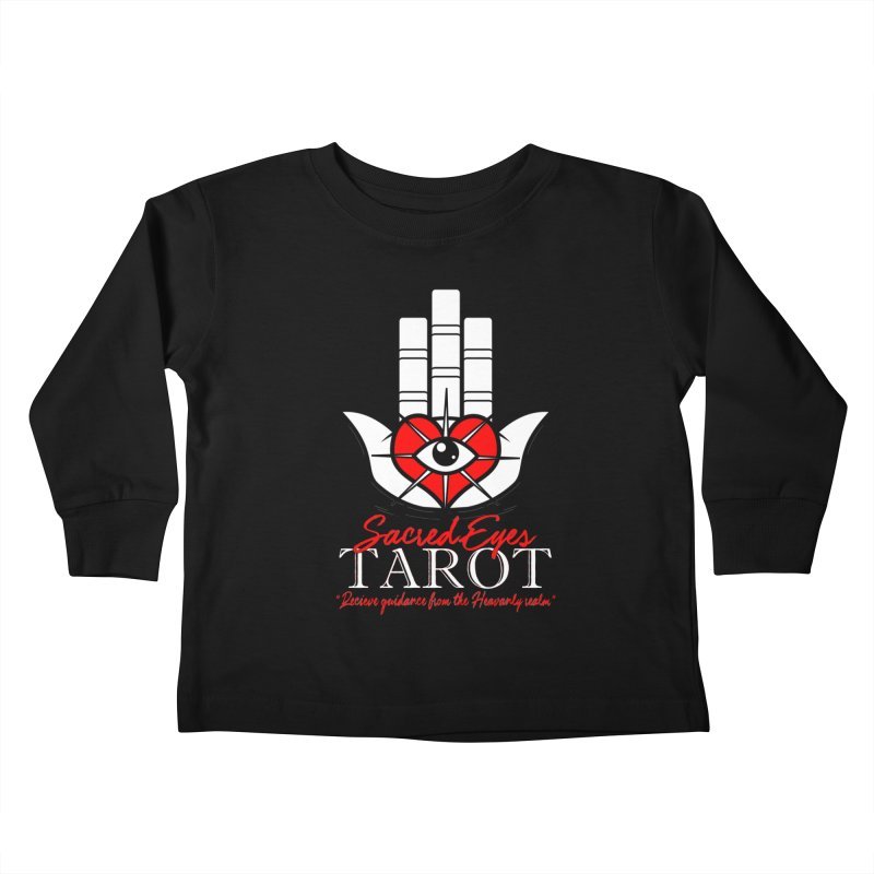 Sacred Eyes Tarot (dark) Kids Toddler Longsleeve T-Shirt by Frewil 's Artist Shop