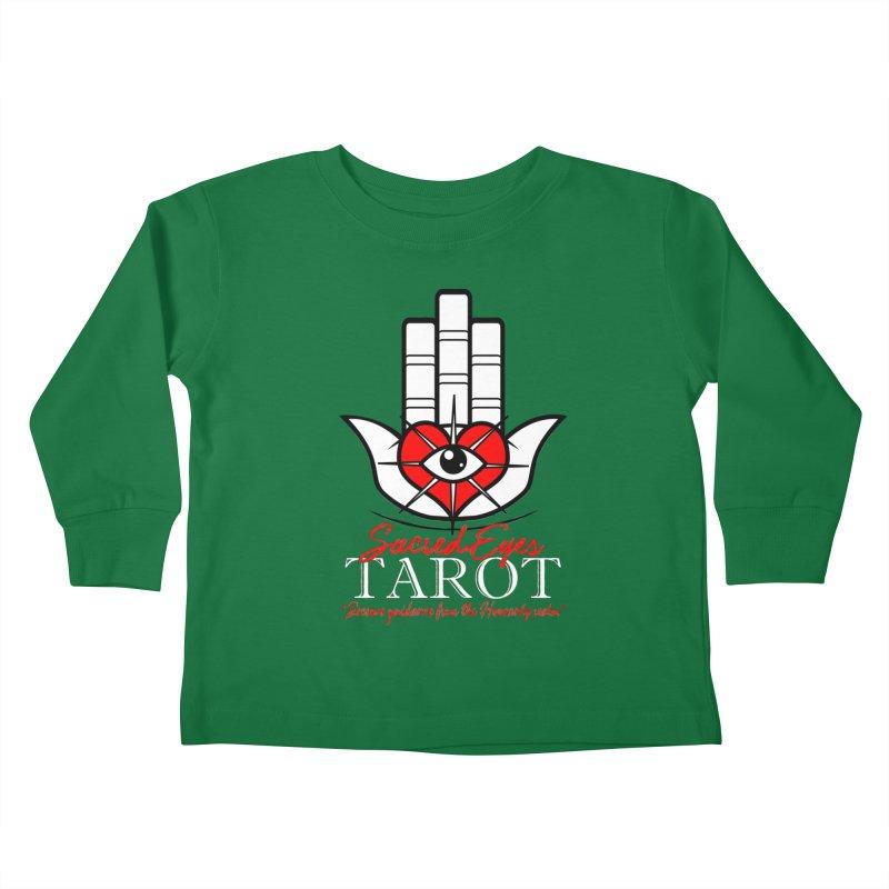 Sacred Eyes Tarot (dark) Kids Toddler Longsleeve T-Shirt by Frewil 's Artist Shop