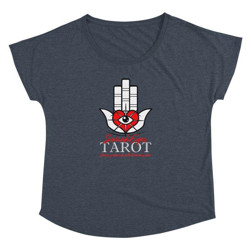Sacred Eyes Tarot (dark) Women's Dolman by Frewil 's Artist Shop