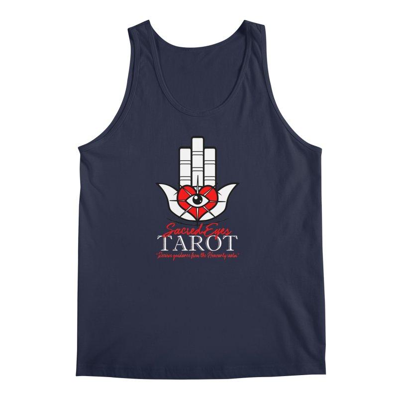 Sacred Eyes Tarot (dark) Men's Tank by Frewil 's Artist Shop