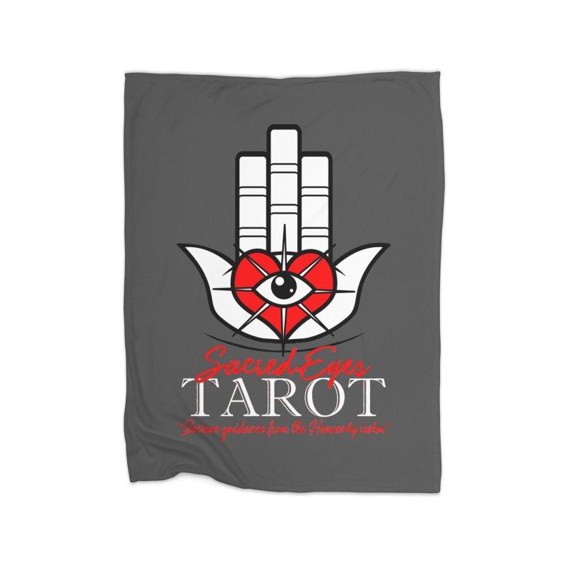 Sacred Eyes Tarot (dark) Home Blanket by Frewil 's Artist Shop