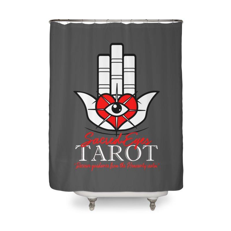 Sacred Eyes Tarot (dark) Home Shower Curtain by Frewil 's Artist Shop