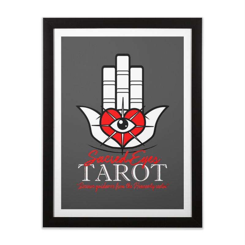 Sacred Eyes Tarot (dark) Home Framed Fine Art Print by Frewil 's Artist Shop