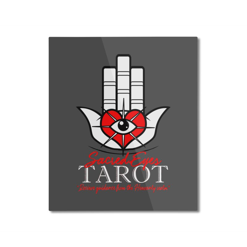 Sacred Eyes Tarot (dark) Home Mounted Aluminum Print by Frewil 's Artist Shop