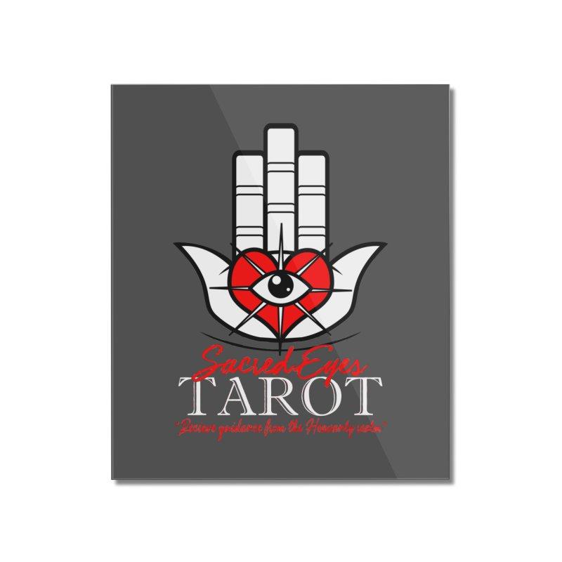 Sacred Eyes Tarot (dark) Home Mounted Acrylic Print by Frewil 's Artist Shop