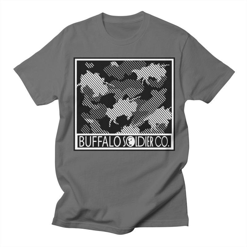 Buffalo Camo Men's T-Shirt by Frewil 's Artist Shop