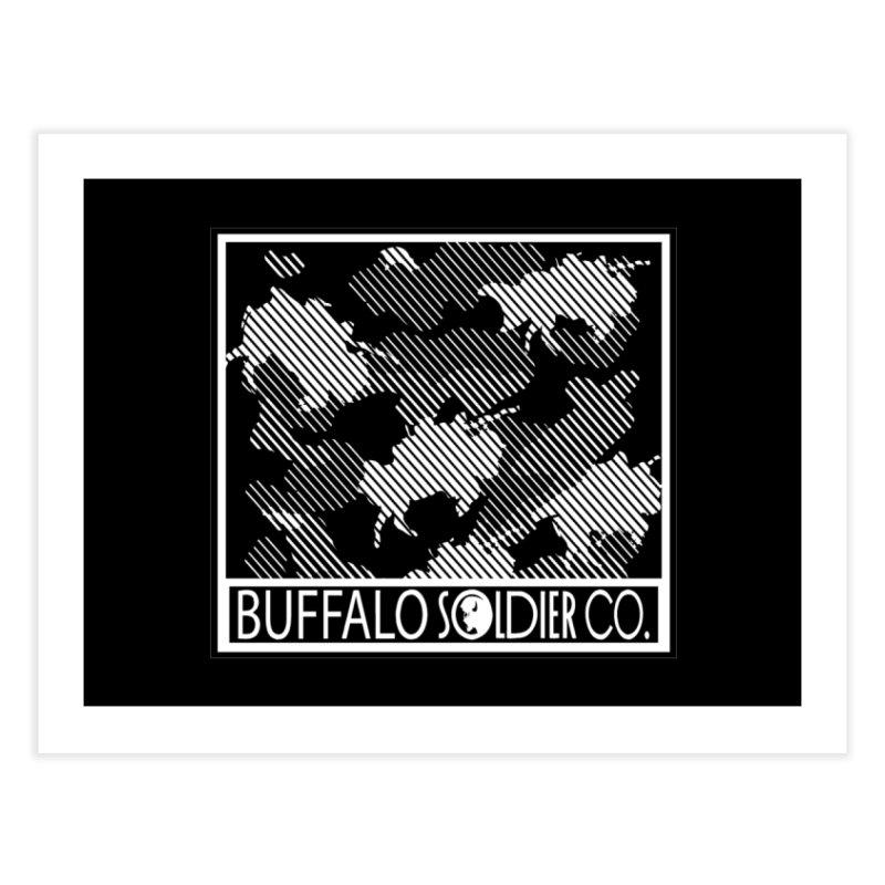 Buffalo Camo Home Fine Art Print by Frewil 's Artist Shop