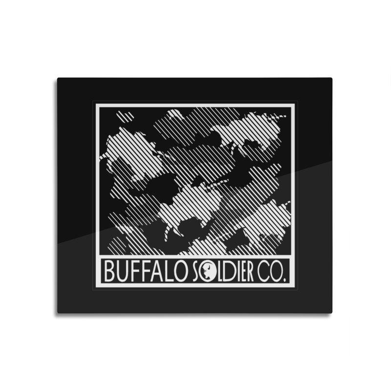 Buffalo Camo Home Mounted Acrylic Print by Frewil 's Artist Shop
