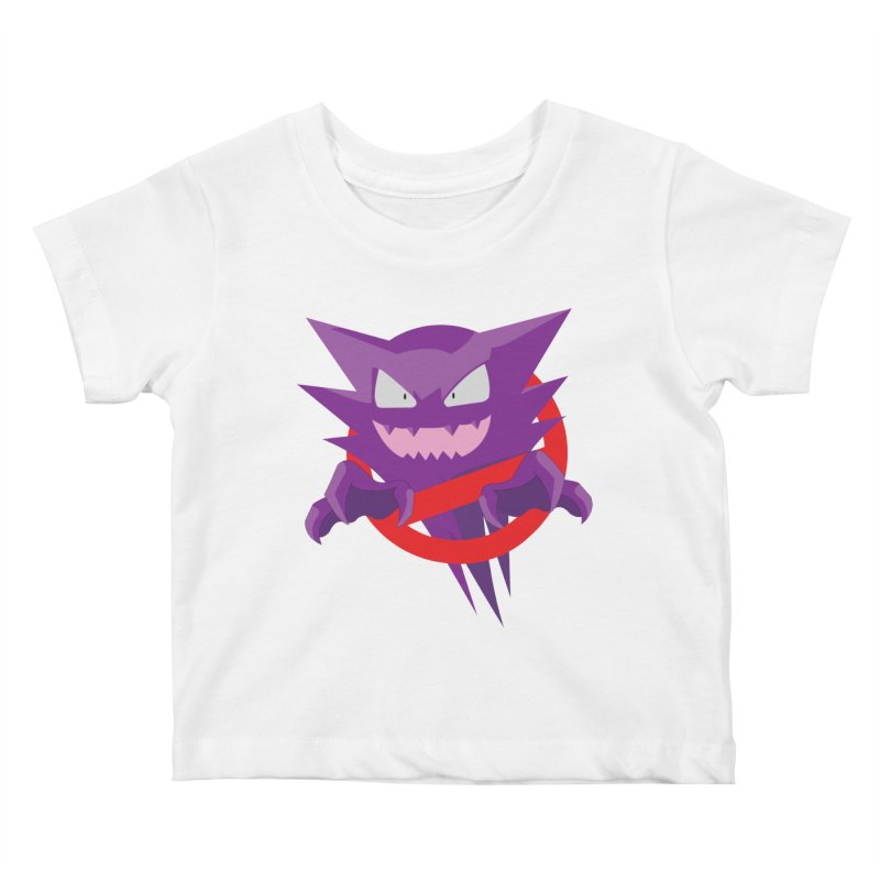 I Ain't Afraid Of No Ghost! Kids Baby T-Shirt by Friday Hut Studios