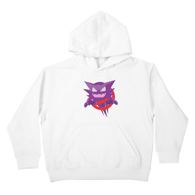 I Ain't Afraid Of No Ghost! Kids Pullover Hoody by Friday Hut Studios