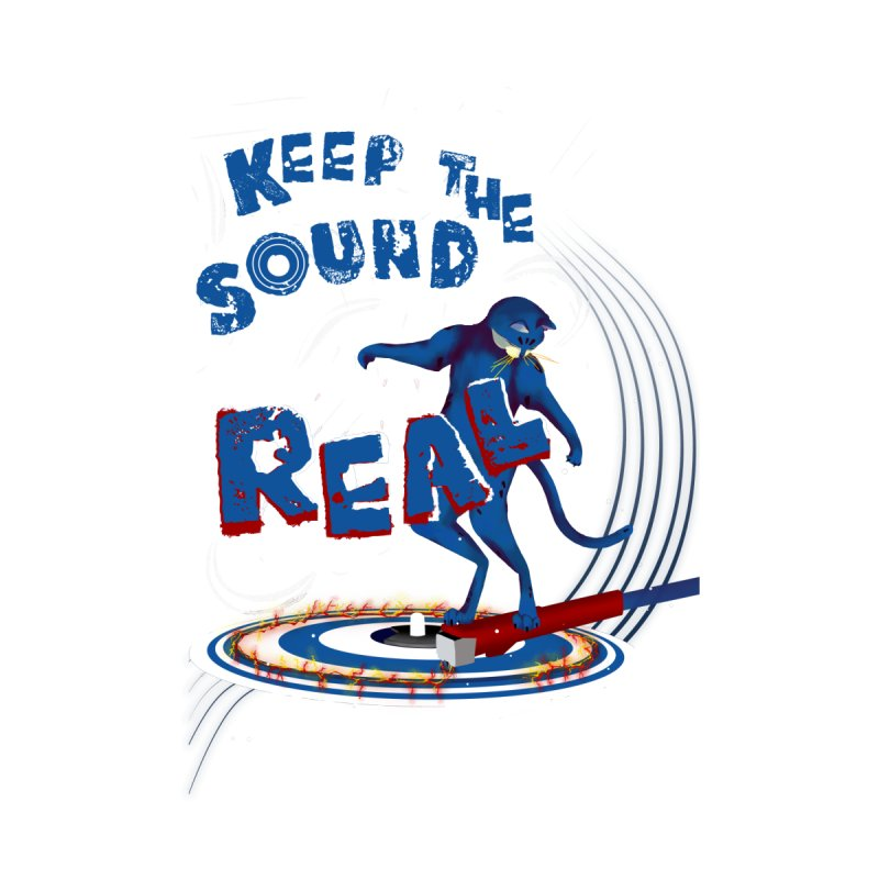 Keep the sound real Men's Longsleeve T-Shirt by Kreativkollektiv Friedlos und Streitsüchtig